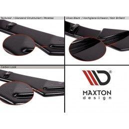Maxton design Lame Du Pare-Chocs Avant V.1 Audi Rs3 8v Sportback Textured