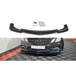 Maxton design Lame Du Pare-Chocs Avant / Splitter Mercedes-Benz E-Class W207 Coupe Amg-Line Textured