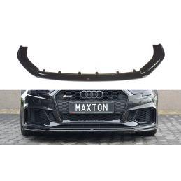 Maxton design Lame Du Pare-Chocs Avant / Splitter V.2 Audi Rs3 8v Fl Sportback Textured