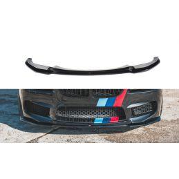 Maxton design Lame Du Pare-Chocs Avant / Splitter V.2 Bmw M6 F06 Gran Coupe Textured