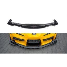 Maxton design Lame Du Pare-Chocs Avant / Splitter V.1 Toyota Supra Mk5 Textured