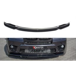 Lame du pare-chocs avant / Splitter  BMW X5 E70 Facelift M-pack Texturé, X5 E70