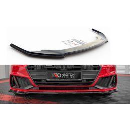 Lame Du Pare-Chocs Avant V.1 Audi A7 C8 S-Line Textured