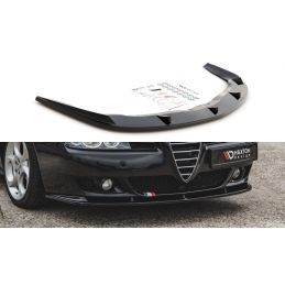 Maxton design Lame Du Pare-Chocs Avant Alfa Romeo 156 Facelift Textured