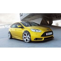 Maxton design Set Des Extensions Ford Focus St Mk3 Carbon Look