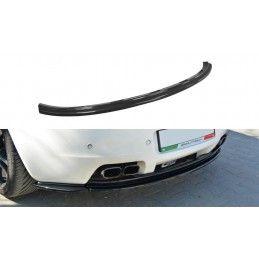 CENTRAL ARRIÈRE SPLITTER Alfa Romeo Brera (sans barres verticales) Noir Brillant, Brera