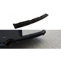 CENTRAL ARRIÈRE SPLITTER BMW 1 F20/F21 M-Power (sans barres verticales) Noir Brillant, Serie 1 F20/ F21