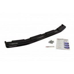 CENTRAL ARRIÈRE SPLITTER MAZDA 3 MK2 MPS (sans barres verticales) Noir Brillant, Mazda 3