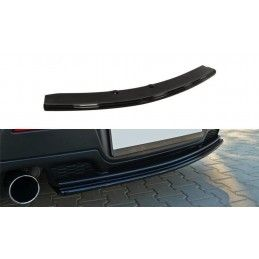 CENTRAL ARRIÈRE SPLITTER MAZDA 3 MPS MK1 PREFACE (sans barres verticales) Noir Brillant, Mazda 3