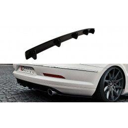 Maxton design Central Arrière Splitter Vw Passat Cc R36 Rline (avant Facelift) (avec Une Barre
