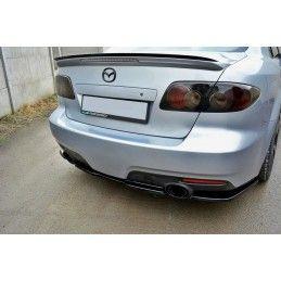 CENTRAL ARRIÈRE SPLITTER Mazda 6 Mk1 MPS Look Carbone, mazda 6