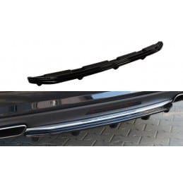 Maxton design Central Arrière Splitter Mercedes Cls C218 (avec Une Barre Verticale) Amg Line Molet
