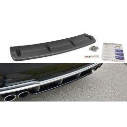 Central Arriere Splitter Audi S3 8V FL Hatchback / Sportback / Limousine  Noir Brillant, A3/S3/RS3 8V