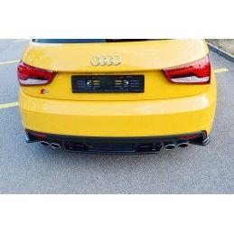Central Arriere Splitter Audi S1 8X Look Carbone, A1 8X
