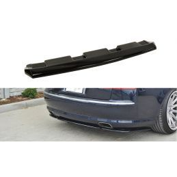 Maxton design Central Arrière Splitter Audi S8 D3 (sans Barres Verticales) Gloss Black