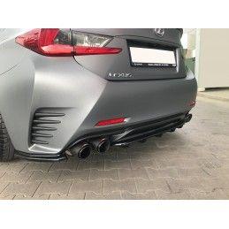 Central Arrière Splitter (avec Une Barre Verticale) Lexus Rc