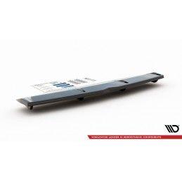 Maxton design Central Arrière Splitter (avec Une Barre Verticale) Hyundai I30 N Mk3 Fastback Gloss