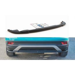 Central Arrière Splitter Volkswagen T-Cross Carbon Look