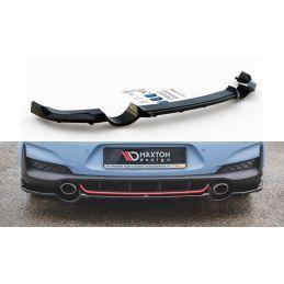 Maxton design Central Arrière Splitter (avec Une Barre Verticale) Hyundai I30 N Mk3 Hatchback