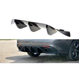 Maxton design Rajout Du Pare-Chocs Arrière Alfa Romeo Giulia Veloce Carbon Look