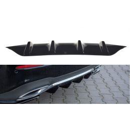 Rajout Du Pare-Chocs Arrière Mercedes-Benz E43 Amg / Amg-Line W213 Gloss Black
