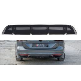 Rajout Du Pare-Chocs Arrière Volkswagen Passat R-Line B8 Carbon Look