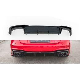 Rajout Du Pare-Chocs Arrière Audi A7 C8 S-Line Gloss Black