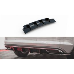 Maxton design Rajout Du Pare-Chocs Arrière Skoda Kodiaq Mk1 Sportline Gloss Black