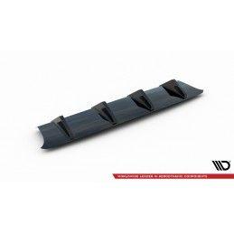 Maxton design Rajout Du Pare-Chocs Arrière Audi S3 8v Fl Hatchback Gloss Black