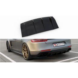 Diffuseur Arrière Complet Porsche Panamera Turbo / Gts 971 Gloss Black