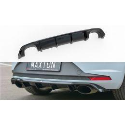 Maxton design Diffuseur Arrière Complet Seat Leon Iii Cupra Textured