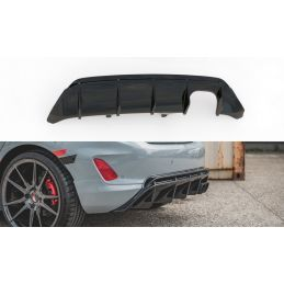 Maxton design Diffuseur Arrière Complet V.2 Ford Fiesta Mk8 St Textured