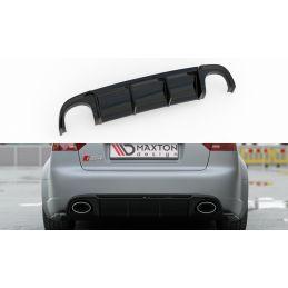 Diffuseur Arrière Complet Audi Rs4 B7 Gloss Black