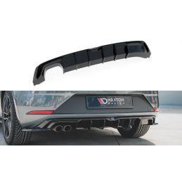 Diffuseur Arrière Complet Seat Leon Mk3 Fr Facelift Gloss Black