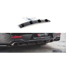 Diffuseur Arrière Complet Porsche Panamera Turbo 970 Facelift Noir Brillant, Panamera