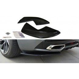 Maxton design Lame Du Pare Chocs Arrière Citroen Ds5 Facelift, Preface Carbon Look