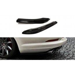 Lame Du Pare Chocs Arrière Vw Passat Cc R36 Rline (avant Facelift) Carbon Look