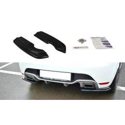 Maxton design Lame Du Pare-Chocs Arrière Renault Clio Mk4 Rs Carbon