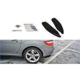 Maxton design Lame Du Pare-Chocs Arrière V.1 Mercedes-Benz Slk R172 Carbon