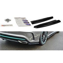 Maxton design Lame Du Pare-Chocs Arrière Mercedes-Benz Cla C117 Amg-Line Facelift Carbon