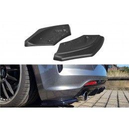 Lame Du Pare-Chocs Arrière Volkswagen Scirocco Mk.3 R Facelift Carbon Look