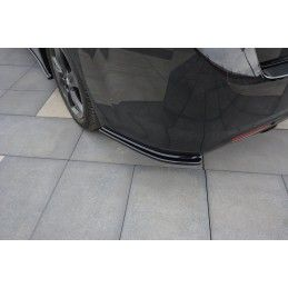 Maxton design Lame Du Pare-Chocs Arrière Honda Accord Mk8. (cu-series) Avant Facelift Sedan Carbon