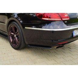 Maxton design Lame Du Pare-Chocs Arrière Volkswagen Cc R-Line Carbon Look