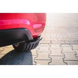 Lame Du Pare-Chocs Arrière Volkswagen Polo Mk5 Gti 6r Avant Facelift Carbon Look
