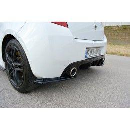 Maxton design Lame Du Pare-Chocs Arrière Renault Clio Mk3 Rs Facelift Carbon Look