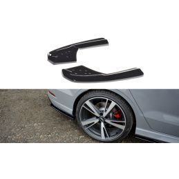 Lame Du Pare-Chocs Arriere Audi RS3 8V FL Sedan Look Carbone, A3/S3/RS3 8V
