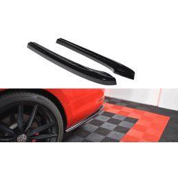 Lame Du Pare-Chocs Arrière V.1 Vw Golf 7 R Variant Facelift  Carbon Look