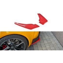 Maxton design Lame Du Pare-Chocs Arrière V.2 Toyota Supra Mk5 Carbon Look