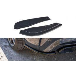 Maxton design Lame Du Pare-Chocs Arrière Bmw X4 M-Pack G02 Carbon Look