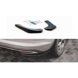 Lame Du Pare-Chocs Arrière Skoda Kodiaq Mk1 Sportline Carbon Look